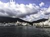 Cadaqués - Costa Brava (muntsa-joan-color) Tags: sea beach bahia clouds costa olympus water mar nubes costabrava catalonia playa paisaje