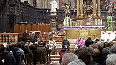 """18.02.2018 Incontro con il Vescovo insieme a tutti i Gruppi di ascolto della Parola diocesani. • <a style=""""font-size:0.8em;"""" href=""""http://www.flickr.com/photos/82334474@N06/27259850917/"""" target=""""_blank"""">View on Flickr</a>"""