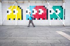 Pac-Man (JAY KJ) Tags: colors pacman city people tsimshatsui hongkong street rx100m4 sony