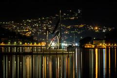 Como Lake (simonealbini) Tags: comolake italia lagodicomo como lake lago luci notte nightscape nightscene notturna timelapse lungaesposizione riflessi canoneos70d canon100400f4556usm cityscape