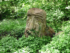 Challenge Friday, week 19, theme sculptural (3) - troll on View Island (karenblakeman) Tags: viewisland caversham uk troll carving steveradford wood challengefriday cf18 sculptural may 2018 reading berkshire