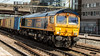 66756 (JOHN BRACE) Tags: 2014 gmemd london canada built co class 66 loco 66756 seen stratford gb railfreight livery 1046 felixstowe hams hall freightliner train passing 1301 4 late
