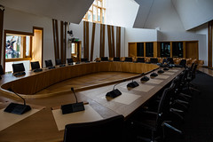 Scottish Parliament Tour May 2018 (13 of 119) (Philip Gillespie) Tags: scottishparliament visitscotparl scotland parliament edinburgh canon 5dsr architecture windows lights tour seats flags dog pets water interior design hills arthurs seat city sky sun art sculpture mono monochrome colour color black white blue green red yellow orange stairs boat style curves lines chamber epmg photography meetup group people men women boys girls kids chambers meetings summer grass trees