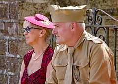 Haworth 1940's Weekend 2018 (grab a shot) Tags: canon eos 5dmarkiv haworth haworth1940sweekend england uk yorkshire westyorkshire brontecountry reenactment livinghistory war worldwar2 ww2 wwii 1940s homefront oldfashioned vintage warweekend 2018 people outdoor woman man uniform military army soldier male