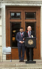 Governor's Wreath Laying Ceremony – 05/21/18 (Ohio Department of Veterans Services) Tags: governor governors gov govs wreath wreathlaying ceremony may 2018 john kasich oh ohio dept department veterans veteran services vets service hero heroes fallen member members sacrifice honor remember remembrance remembered honored honoring statehouse columbus rev reverend richard ellsworth army chaplain highway patrol