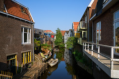 Zaandam (Julysha) Tags: zaandam town canal woning spring may acr thenetherlands noordholland d810 sigma241054art balcony people 2018 houses