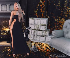 I See Fire (JarSephora) Tags: maitreya lara mesh body catwa catya bento ed shinthi black fair event rama salon madison hair empire lavatera mirukuti elysion secondlife second life sl style fash fashion female woman women girl girls blog blogger blogging jarspehora jar sephora ricci