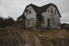 Walluski House (SkylerBrown) Tags: abandoned architecture creepy dark gothic hauntedhouse house rural