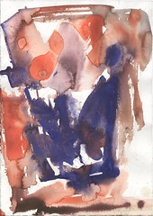 Crowns (janinaroider) Tags: 2014 artist blue contemporaryart crowns janinaroider malerei painting series watercolours