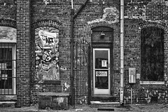 The heART Of Washington - Back Doors (Modkuse) Tags: nikonfx washingtonnc nc building architecture nikon nikondslr nikond700 nikkor 50mmf18 50mmf18nikkor wall brickwall