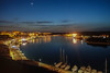 Maó (jaume 74) Tags: night harbour sony rx 100miii sea maó mahon menorca bay