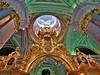 Saint-Petersbourg - cathédrale Pierre et Paul (l'iconostase) (lecocqfranck) Tags: saintpetersbourg cathédrale iconostase pierreetpaul téléguine ivanov 1720 doré