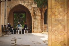 Inner courtyard of the Latife Cami, Mardin (sdhaddow) Tags: mardin turkey mosque muslim islamic mesopotamia anatolia