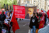 Mayday March 2018 Clerkenwell London - Traflgar Sq (Communist Party of Great Britain(Marxist-Leninist)) Tags: mayday tradeunions marx stalin mao lenin london demo cpgbml antiimperialist communism banners hammerandsickle theinternational ussr workingclass internationalworkers'day marxismleninism may1st mayday2018 imperialist redflag tkp mlkp kgo che metropolitanpolice rmt aslef mickcash turkey kurds bjk partizan mkp daymer atik aleviyouthuk britianalevifederation halklarindemokratikpartisi communistparty iwa iraqicommunistparty jammukashmirpeoplesnationalparty jvp janathavimukthi chinesemedia russianmedia peramuna jonsnow lenmccluskey birmingham westmids gbr