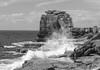 Portland Bill, Dorset (debbiegould97) Tags: portlandbill dorset rocks coast sea waves splash blackwhite scene view