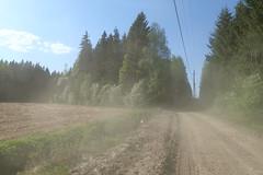 Dusty colors of spring road (talaakso) Tags: erkylä finland hausjärvi kevät olympus olympustoughtg5 olympustg5 tg5 toughtg5 terolaaksospring colours dusty dustyroad metsäautotie pölyinen pölyinentie road springcolors talaakso