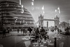 (Kathleen Van Hamme) Tags: londen london april2018 reflection reflectie blackwhite zwartwit tower bridge cityhall streetsoflondon streetphotography straatfotografie