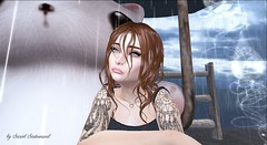in the rain... (sryel90) Tags: vistaanimations maitreya argrace gaeg vinyl