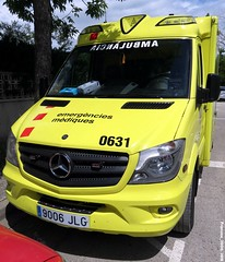 SEM (Francis Lenn) Tags: ambulància ambulance ambulancia sem girona catalonia emergency urgències urgencias
