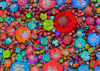 Bubblicious Intensity (Ross Studio) Tags: blue red orange black bubbles circles background abstract design backdrop artistic wallpaper decoration texture pattern art decorative color illustration colorful contemporary paint grunge wave swirl messy grungy graphic anthonyross publicdomain abstractart abstractdesign backgrounds backdrops bright digitalillustration energy ethereal geometric sphere vibrant vivid wild