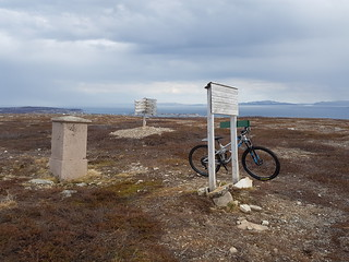 Basis A, the trig point and the monolith