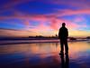 Cae el Sol (▶MacLeod◀) Tags: atardecer sunset coquimbo ocaso crepúsculo arrebol totoralillo landscape paisaje vanillasky contraste contraluz playa beach iphone mar cazadordeatardeceres
