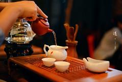 perseverance (Chez C. (busy)) Tags: tea chinesetea tearitual longjing 茶道