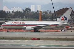 N319AA (dbind747438) Tags: american airlines boeing 767200 n319aa los angeles airport