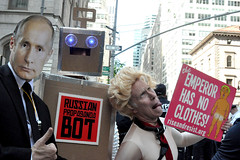 bot (greenelent) Tags: notrump protest demonstration riseandresist streets people activists nyc newyork