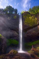 Latourell Falls (Christina Angquico) Tags: latourellfallscolumbiarivergorgegorge waterfall pacificnorthwest pnw oregon landscape nikon d600 1635mm christinaangquico