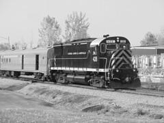 DSC06303B (mistersnoozer) Tags: lal shortline railroad rr rgvrrm excrusion train alco locomotive c425