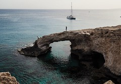 Eastern Cyprus. (CWhatPhotos) Tags: cwhatphotos beach arch cliff caves cyprus eastern