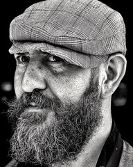 Black and white portrait (alessandrochiolo) Tags: