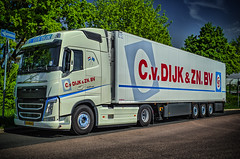VOLVO FH 500 TRUCK C.v DIJK & ZN. BV (Peter's HDR-Studio) Tags: petershdrstudio hdr truck volvo trailer zugmaschinemitauflieger