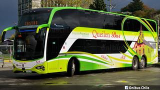 Busscar Busstar DD / Queilen Bus / Nº121