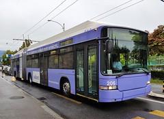 Luzern, Haldenstrasse 08.08.2017 (The STB) Tags: dieschweiz switzerland bus busse autobus autobús publictransport citytransport öpnv trolleybus obus oberleitungsbus trolebús