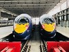 Javelin trains (Matt From London) Tags: javelins trains stpancras hs1 platform london transport