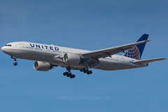 N798UA (rcspotting) Tags: gru sbgr boeing 777200 united airlines n798ua