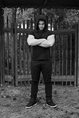 Carmine D'Aniello (elparison) Tags: blackandwhite bw biancoenero fit mountain man portrait