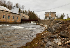 2018-04-29 16-01-24 (_MG_3301) (mikeconley) Tags: newyork eriecanal water waterfall river abandoned bridge creek milton kayaderosseras usa