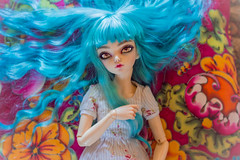 Effy (NastasiKa) Tags: bjd balljonteddoll doll dolls faceup minifee fairyland effy rheia