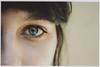Eye (filippobartolucci) Tags: eyes girl macro eye human face black colors white light reflex riflessi faccia ragazza film pentax 35mm kodak portra 160 iso 100mm scan portrait ritratto italy italia filmphotography pellicola
