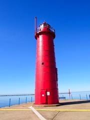 Muskegon South Pierhead Lighthouse (1903) (Selector Jonathon Photography) Tags: lighthouse muskegon michigan muskegonmichigan lakemichigan muskegonsouthpierheadlighthouse muskegonsouthpierlighthouse muskegonpierheadlighthouse muskegonpierlighthouse muskegonlighthouse pierheadlighthouse pierheadlight pierlighthouse pierlight