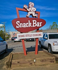 Snack Bar, Hickory, NC (Robby Virus) Tags: hickory northcarolina nc sign signage snack bar restaurant home style cooking food