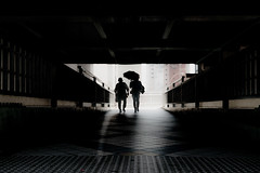 20180505 Wet day (soyokazeojisan) Tags: japan osaka people city walk umbrella digital shadow olympus em1markⅱ  918mm em1markⅱ
