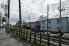 Tokyo.世田谷区松原 東急世田谷線 (iwagami.t) Tags: 201804 fujifilm fuji xt1 xf14mm japan tokyo city town urban street railroad train apartment