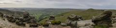 Edale Panorama (l4ts) Tags: landscape derbyshire peakdistrict darkpeak kinderscout edale gritstone gritstoneedge gritstonetors uppertor winhill losehill thegreatridge grindslowknoll