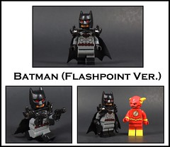 Batman Flashpoint ver. (-Metarix-) Tags: lego super hero minifig dc comics comic flashpoint thomas wayne rebirth new 52 bruce batman barry allen