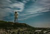 RocKet Man... (Jess Feldon) Tags: leebigstopper cliff rocks sea longexposure portishead lighthouse blacknorelighthouse sky clouds severnestuary coast beach jessfeldon lookslikefilm