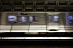 Headed Home (dckellyphoto) Tags: washingtondc districtofcolumbia 2018 wmata metro mcphersonsquare station train blur blurred